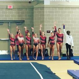 bama bounders gymnastics meet tracker
